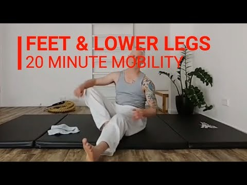 Feet and Lower Legs - 20 Minute Mobility Session