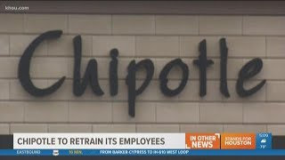 IN OTHER NEWS: Chipotle to retrain workers in food safety