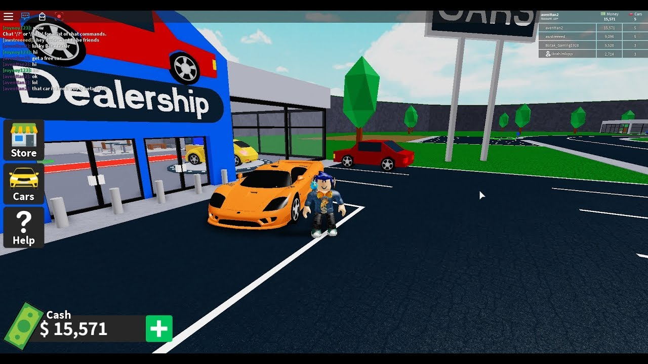 Roblox Vehicle Tycoon Beta Tester Only Saleen S7 Youtube