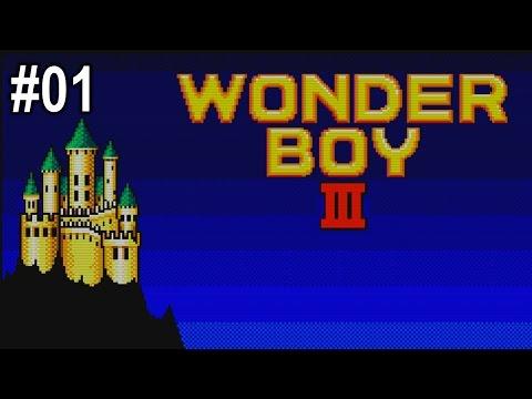 Aegon Plays Wonder Boy III: The Dragon's Trap #01