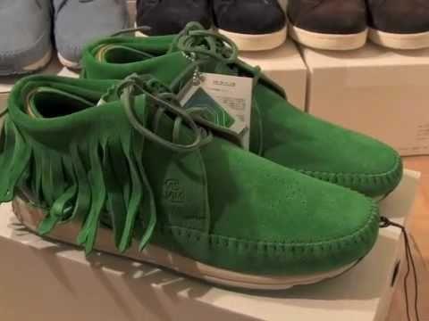 visvim fbt shaman green