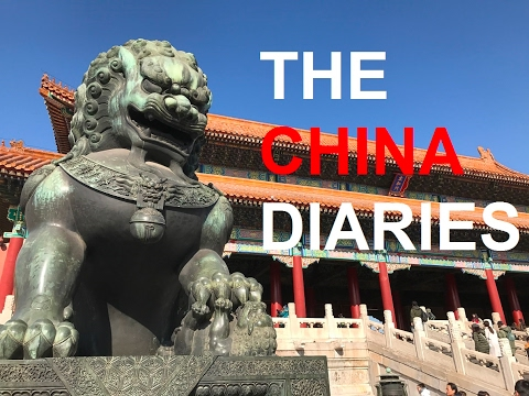 THE CHINA DIARIES - Taiyuan, Beijing, Shanghai, Ningbo