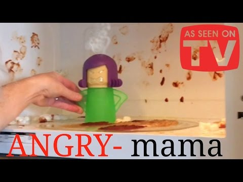 Angry Mama Microwave Cleaner - As Seen On TV