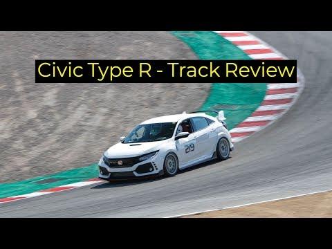 2018 Honda Civic Type R Track Review - Laguna Seca