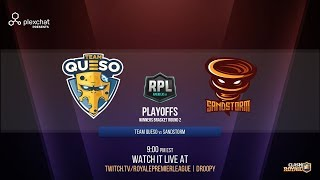 RPL AMERICAS | Team Queso VS Sandstorm | PlayOffs