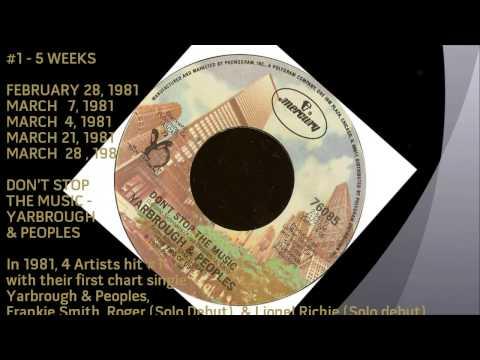 ★ Billboard #1 R&B Singles of 1981 ★