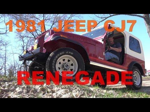 1981 Jeep Renegade CJ7 Classic Texas 4x4 in 4K today