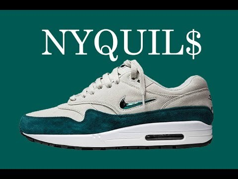 the best attitude 543ae 6a188  NIGHT NEW PICKUP  NIKE AIR MAX 1 JEWEL ATOMIC TEAL HEAT!!!+COMPARISON