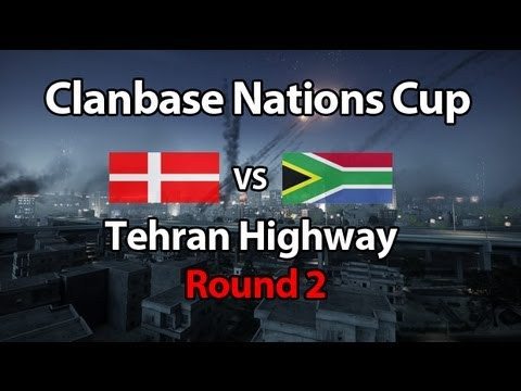 Team Denmark vs South Africa | Tehran Highway Round 2 (Clanbase Nations Cup)
