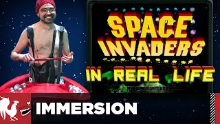 Space Invaders in Real Life - Immersion