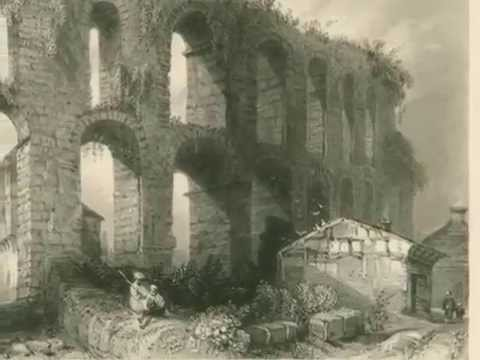 Valens Aqueduct Historical Places in Istanbul