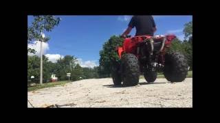 Video Can am renegade 1000r wheelies and speed test! download MP3, 3GP, MP4, WEBM, AVI, FLV Januari 2018