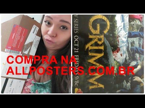 COMPRA INTERNACIONAL ALLPOSTERS.COM.BR #VideosQuaseTodosOsDias