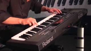 Roland E-09 Keyboard Overview