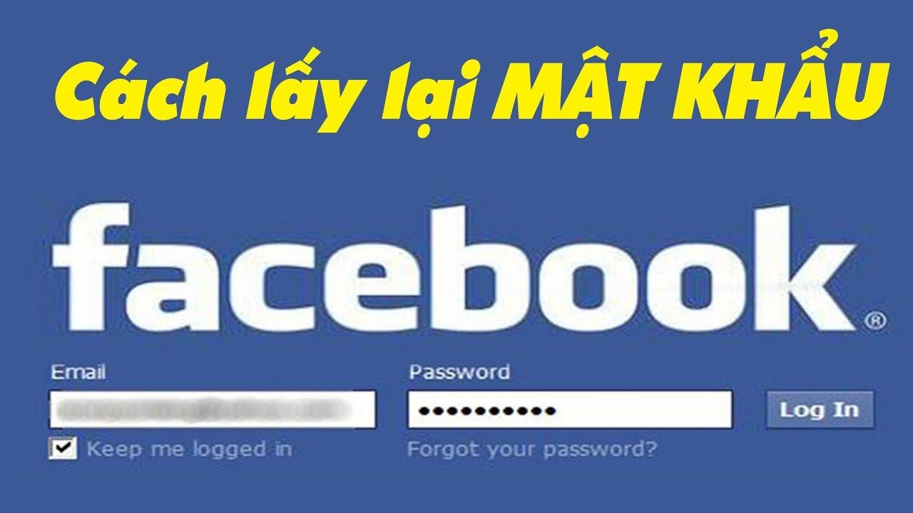 Cách lấy lại mật khẩu Facebook không cần số điện thoại hay email