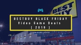 Best Buy Black Friday Video Game Deals 2019