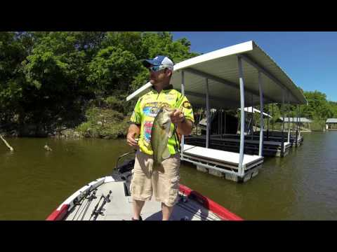 Weekend Waters Shallow BASS Fishing On Pomme De Terre Lake May 14 2016