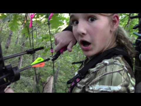 Hog Bow Hunt 12 Year Old Girl