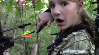 Hog Bow Hunt 12 Year Old Girl