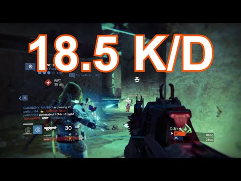 DESTINY: 37-2 K/D My Best Game Ever - Red Death & Conspiracy Theory-D Gameplay
