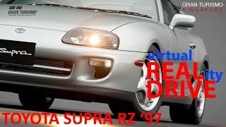GT SPORT REAL DRIVE VR TOUR - Toyota Supra RZ 1997