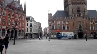 The lovely Markt Square in Brugge