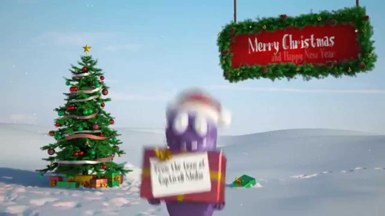 Christmas Card Animation Business Message Video - Funny Bert - YouTube