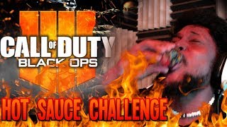 EVERY 3 DEATHS I DRINK A HOT SAUCE SHOT | Call of Duty: Black Ops 4 Gameplay