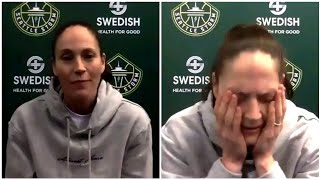 Sue Bird Just Found Out Her Teammate Mom Is The Same Age As Her!!!