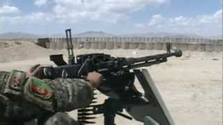 DShK 1938 12.7mm Heavy Machine Gun Live Fire