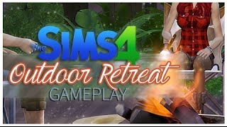 The Sims 4 DLC: Outdoor Retreat Gameplay