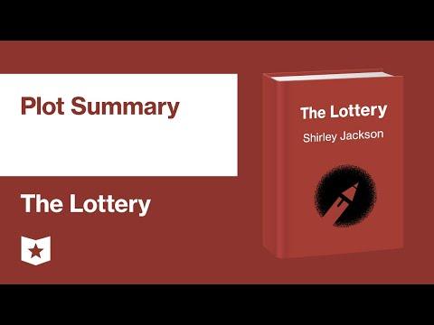 The Lottery By Shirley Jackson | Plot Summary