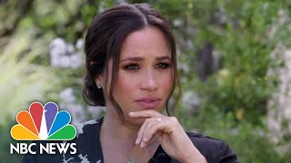 What To Expect From Prince Harry And Meghan's Interview With Oprah | NBC News NOW