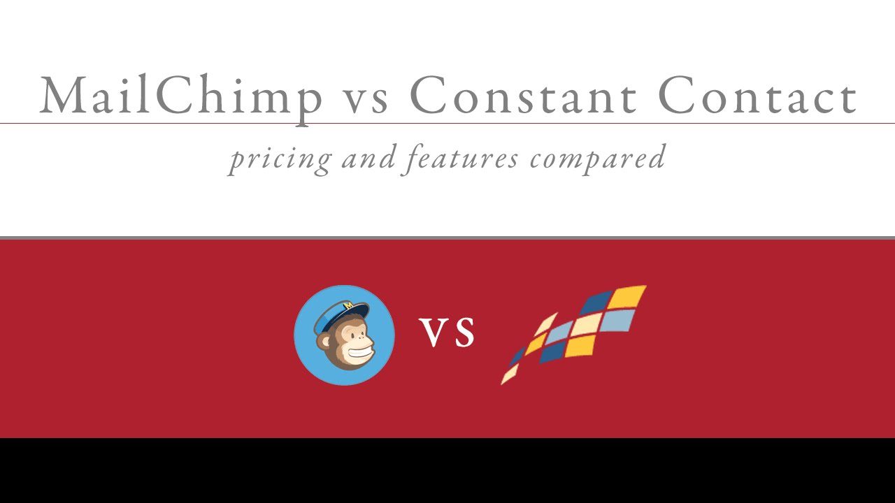 The Mailchimp Vs Aweber Vs Constant Contact Ideas