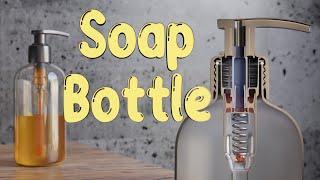How do Soap Bottle Pumps Work?      Inside Animation of a Soap Pump Dispenser #VeritasiumContest