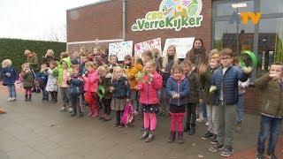 Geen staking, maar wel actie op basisschool in Waardhuizen - Altena TV