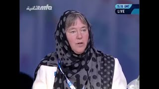 Deborah Schulte, MP Canada at Jalsa Salana UK 2016