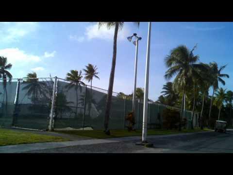 Around the island of Kwajalein
