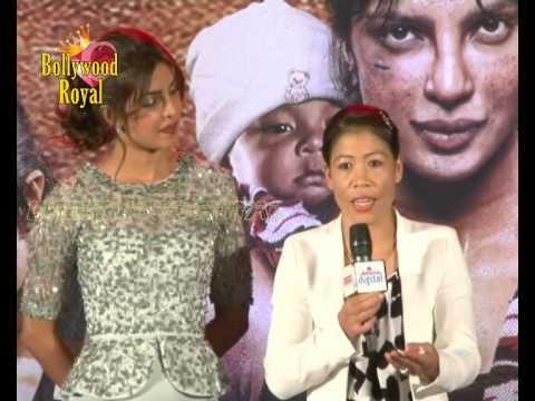 Priyanka Chopra, Mary Kom & Others at Song Launch...