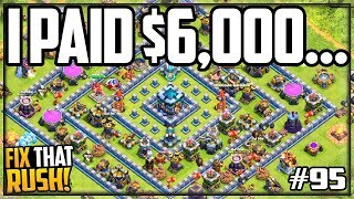 I Paid OVER $6,000 For This Base in Clash of Clans!
