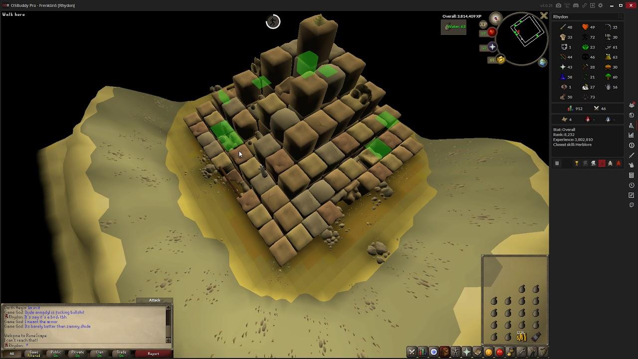[OSRS Ironman money making] Agility Pyramid (230k GP/h)