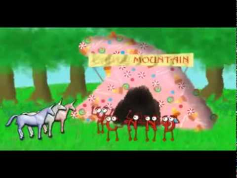 Charlie The Unicorn - Candy Mountain [german Fandub].3gp