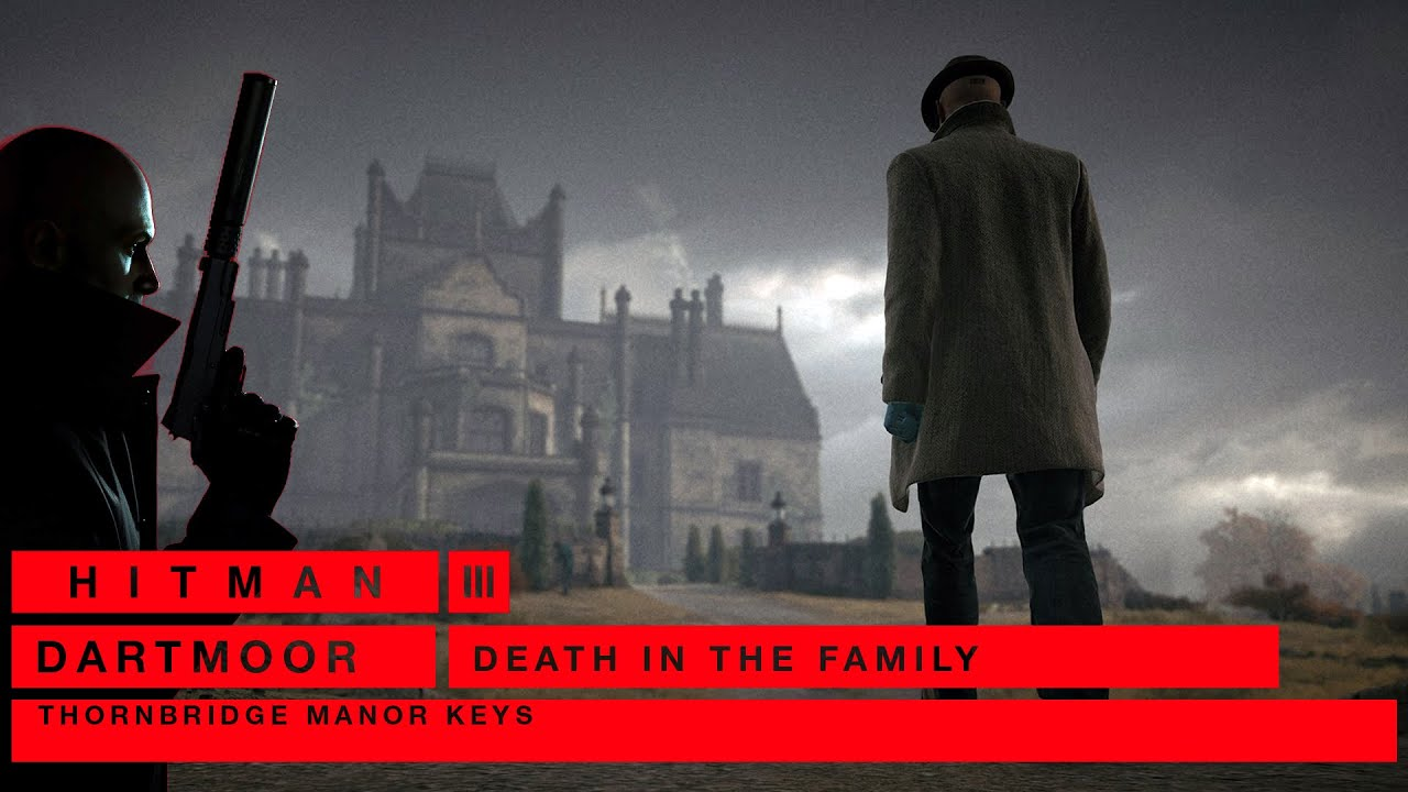 Hitman 3 DARTMOOR: THORNBRIDGE MANOR KEYS (Legendado Áudio Original)
