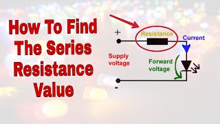 Find Series Resistance Value | Easiest Way | Lecture 3