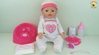 Baby Warm – обзор куклы. Кушает, плачет и купается (аналог Baby Born) / Toys for girl. Videos Doll(Обзор и распаковка куклы Беби Ворм. Имеет множество функций: ест кашку и пьет, плачет и даже ходит в туалет...., 2015-07-11T16:30:46.000Z)