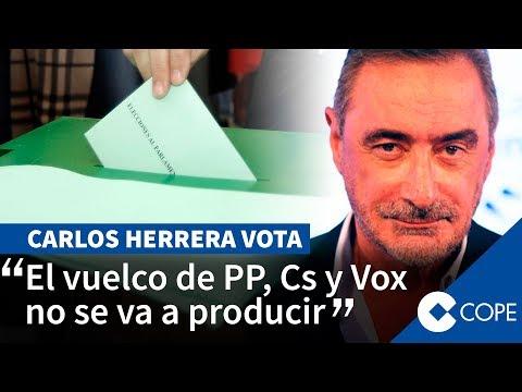 El mensaje de Herrera tras votar en las elecciones andaluzas
