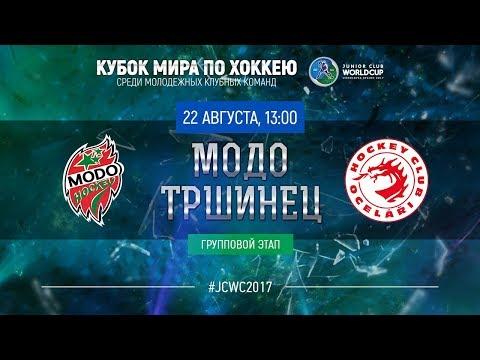 Junior Club World Cup 2017. MODO (U20) - Trinec (U20)