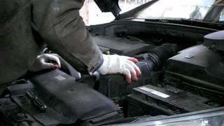 Peugeot 407 2.0 HDI wymiana filtra powietrza Ersatzluftfilter replacement air filter