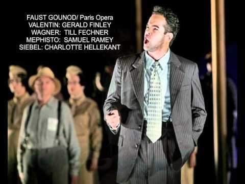 Gerald FINLEY in Valentin 's aria - Samuel RAMEY (le veau d'or) - Till FECHNER as Wagner.
