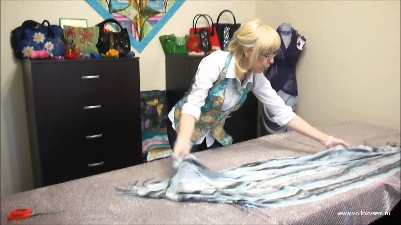 Ютуб видео валяние мастер класс поделка #8